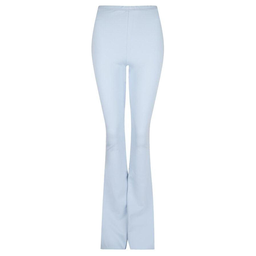 Flared pants lichtblauw - productfoto