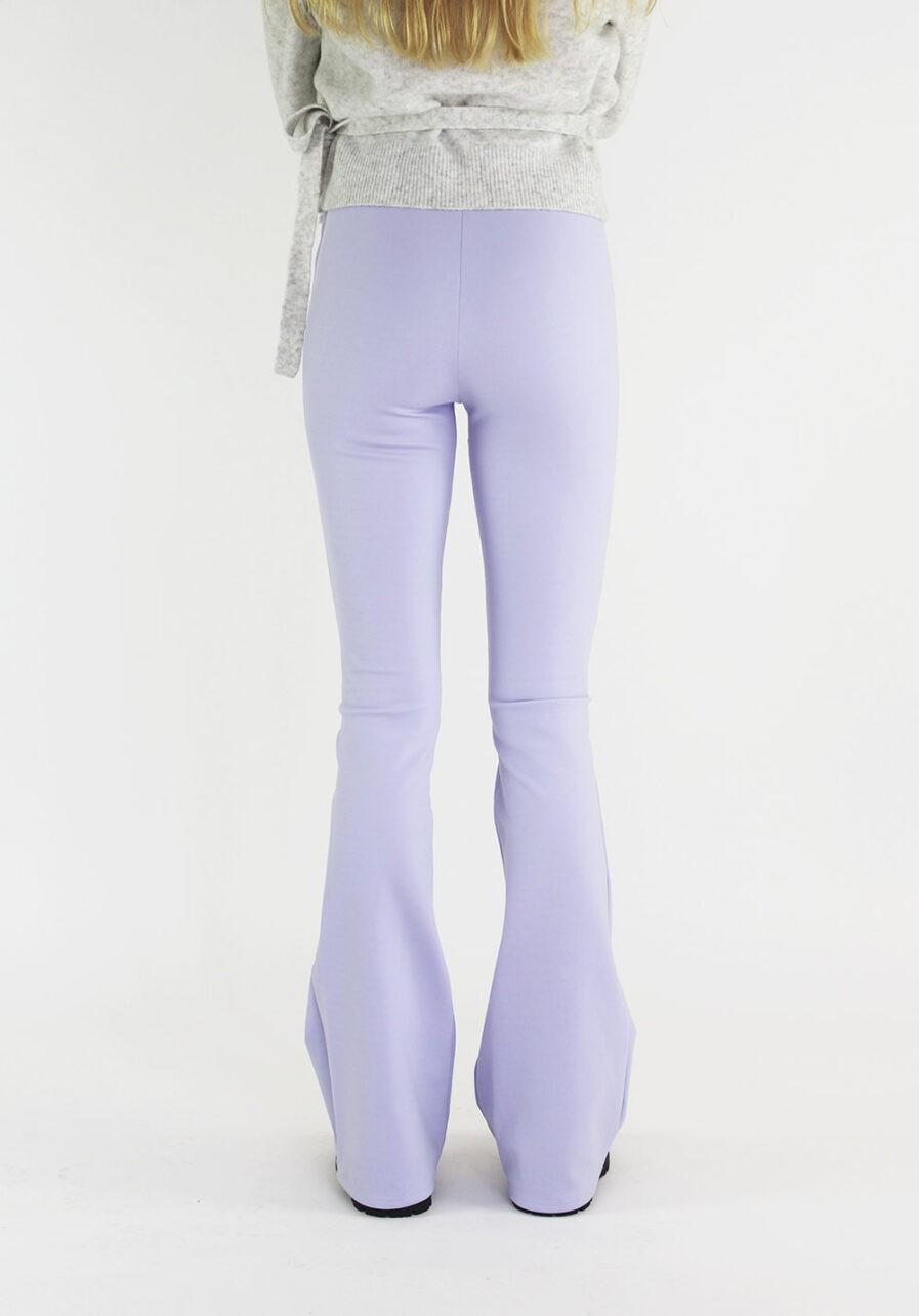 Flared pants lila - achterkantkopie